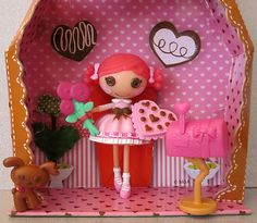 Lalaloopsy Mini Toffee Cocoa Cuddles: Will you be her Valentine? #valentinesday #lalaloopsy #lalaloopsy #valentinesday