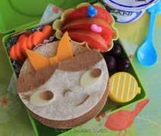 BENTO - LUNCHES - (CAROLINE FROM PHINEAS & FERB)