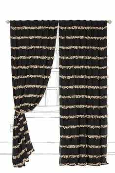 Swing Stripes Curtain #Anthropologie #PinToWin
