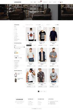 Inspiration Web Design by Logancee