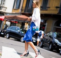 26 Amazing Statement Heels To Elevate Your Outfit via @WhoWhatWear