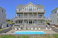 RODANTHE Vacation Rentals | Sun Runner - Oceanfront Outer Banks Rental | 649 - Hatteras Rental