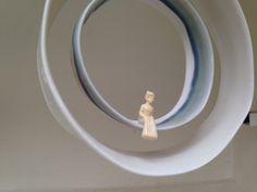 """Mobile""""petit Prince"""" Porcelaine. www.anneberthelot.com"""