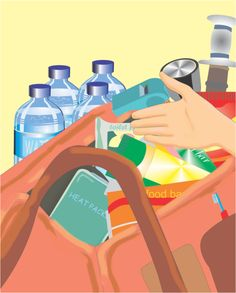 Planning for an emergency is a smart move. Clean drinking water is essential to any disaster preparedness kit and the safest and most reliable choice is to purchase commercially bottled water. 72 Hour Emergency Kit, 72 Hour Kits, Emergency Preparation, Emergency Supplies, In Case Of Emergency, Emergency Planning, Disaster Kits, Disaster Preparedness, Survival Prepping
