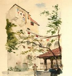 uniQuePic: Beautiful Paintings By Adolf Hitler