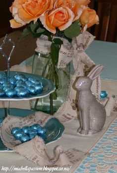 Mia Bella Passions: KISS - Easter Table Styling...