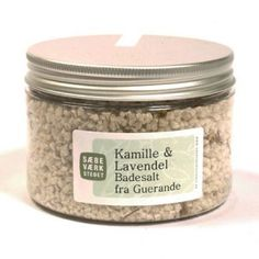 Badesalt Kamille Og Lavendel (200 gr)