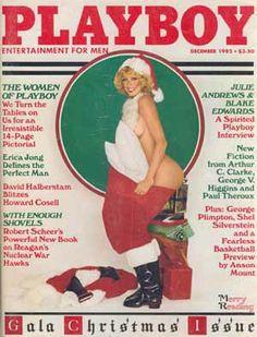 Vintage Playboy Cover December 1982