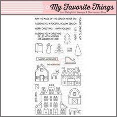 My Favorite Things Clear Stamp - Winter Wonderland