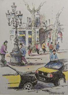 Las Rambles de Barcelona. Joaquim Francés