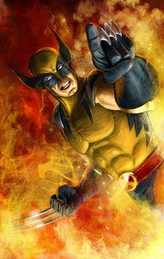 Wolverine by Guillermo Prestegui