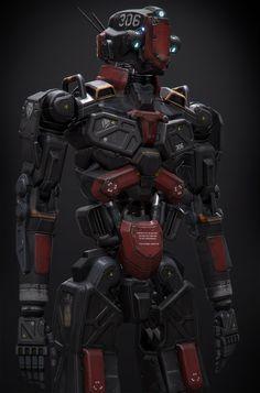 ArtStation - Humanoid Robot Project, Alan Van Ryzin