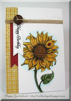 Flourishes, Lil' Inker Designs, Papertrey Ink, Copics