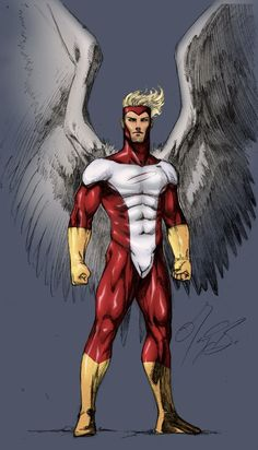 X-Men: Anjo #Marvel