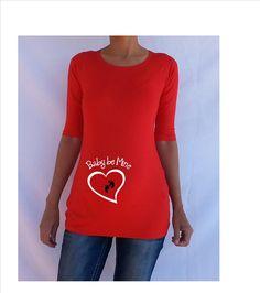 8265b59e9beb8 Items similar to Valentines maternity Shirt