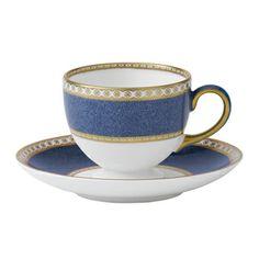 "Wedgwood  ""Ulander Blue Tea Saucer"""