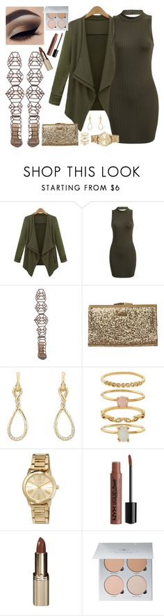 """AIEV2"" by cissylion ❤ liked on Polyvore featuring Schutz, Element, David Yurman, Accessorize, MICHAEL Michael Kors, Charlotte Russe, L'Oréal Paris and Anastasia Beverly Hills"
