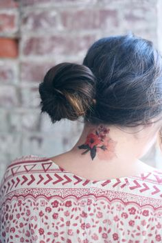 Floral Obsessed: Temporary Tattoos - Free People Clothing Boutique Blog. All.