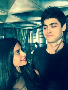 Isabelle and Alec Lightwood // The Mortal Instruments // Shadowhunters // ABC Family // Shadowhunters TV Series