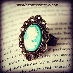 Blue Cameo Ring.