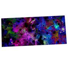 """Ebi Emporium """"Color Me Floral"""" Celestial Blue Desk Mat"""