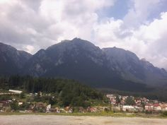 Caraiman Cross on The Caraiman Peak, Bucegi Mountains, Carpathian Mountains
