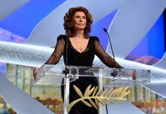 Sophia Loren at Cannes Film Festival