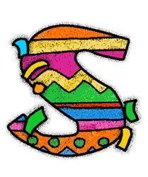 Oh my Alfabetos!: Alfabeto para fiestas.