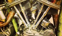 1952 Panhead Harley Davidson