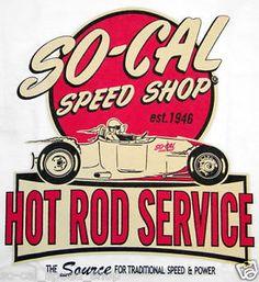 3xl so cal hot rod service t-shirt white rat street flathead custom old school