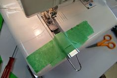 The Sewing and Life Adventures of Emerald Erin: Coverstitch 101 - Learning the Coverstitch Machine!!