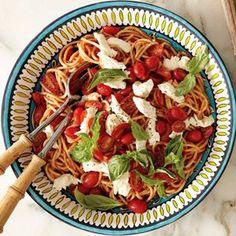 Spaghetti with Tomato-Basil Sauce   Williams-Sonoma
