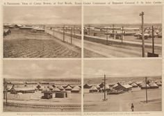 """Turning Sons into Sammies: Just Call It """"Camp Quick"""" Ft Worth Tx, Fort Worth Texas, Old Pictures, Old Photos, Vintage Photos, Trinity River, Cattle Drive, Photo Scan, Old Fort"""