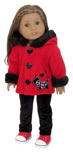 Silly Monkey - Red Scotty Dog Coat and Pants (American Girl), $15.99 (http://www.silly-monkey.com/products/red-scotty-dog-coat-and-pants-american-girl.html)