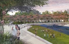 Taichung Gateway Park – Stoss Landscape And Urbanism, Public Realm, Architecture Awards, Design Firms, Ecology, North America, Dolores Park, City, Nature
