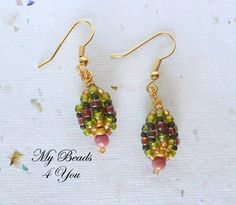 http://mybeads4you.com/ Look for these earring on my blog for a  Free beaded earring tutorial