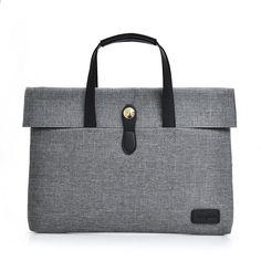 Nové muži notebooku kabelky designer přenosný 14    počítačové  příležitostné Tote nosítka Ol Business Unisex c3dabfed0a