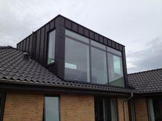 Om- og tilbygninger – www.dk – New Ideas - Winter Garten Architektur Loft Dormer, Dormer Roof, Dormer Windows, House Extension Plans, House Extension Design, Roof Extension, Loft Conversion Roof, Loft Conversion Bedroom, Loft Conversions