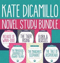 Kate DiCamillo Bundle of 6 Novel Studies - $