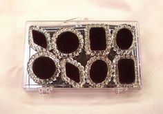 Black Edible Jewels for Cakes