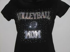 Volleyball Mom Pride T Shirt by aSweeTeeStop on Etsy, $19.99