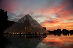 Red Louvre  Photo and caption by Morteza Gheidi   @Smithsonian Magazine