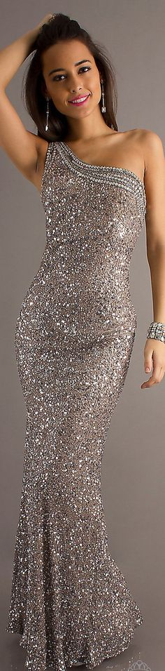Formal long dress glitter ...//md