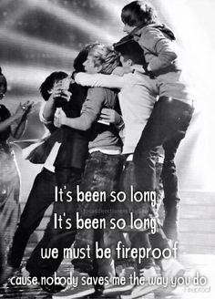 """From One Direction's new album, """"Four,"""" comes the new song, """"Fireproof."""""""