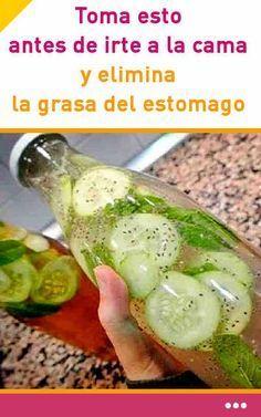 Toma esto antes de irte a la cama y elimina la #grasa del #estomago #bebida #abdomen #adelgazar