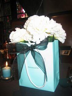 Tiffany Bags :  wedding authentic boxes ceremony diy needed teal tiffany blue tiffany boxes tiffany themed turquoise wedding Mayela1