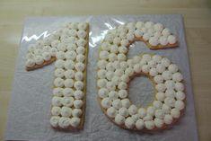 Torta v tvare čísla s fotopostupom - recept postup 6 Sugar, Cookies, Food, Crack Crackers, Eten, Cookie Recipes, Meals, Biscotti, Fortune Cookie