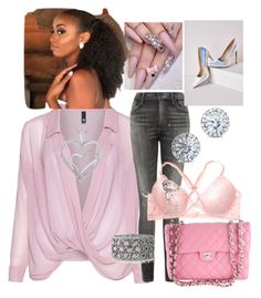 """""""Pink candy"""" by louise1988 ❤ liked on Polyvore featuring moda, Manon Baptiste, Citizens of Humanity, Mark Broumand, Kobelli, Missguided y Chanel"""