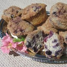 Healthier To Die For Blueberry Muffins ...have to try these!