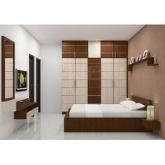 Shop for Temagami Bedroom Sets Online in India from Scale Inch. Avail COD and EMI options on our products. Wardrobe Interior Design, Wardrobe Door Designs, Wardrobe Design Bedroom, Bedroom Bed Design, Bedroom Furniture Design, Modern Bedroom Design, Bedroom Sets, Bed Furniture, Kitchen Furniture